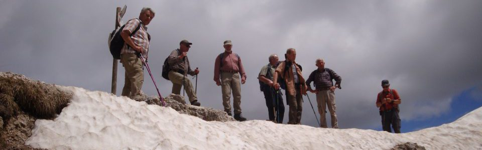 Senioren-Wanderwoche im Fassatal