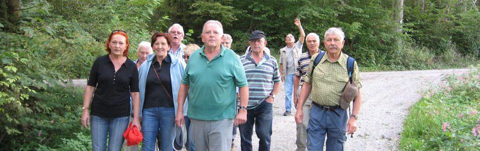 Nächste Wanderung der Seniorengruppe am 8. September2016