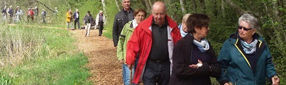 Gemeinsame Wanderung mit den Senioren aus Sigmaringen