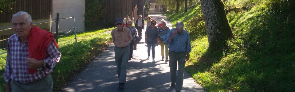 Herbstwanderung der Senioren
